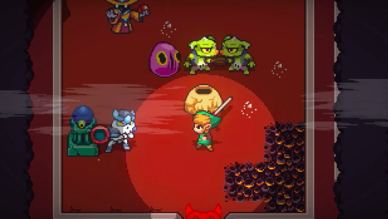 Whoa: Crypt of the Necrodancer is hitting Switch in Zelda form