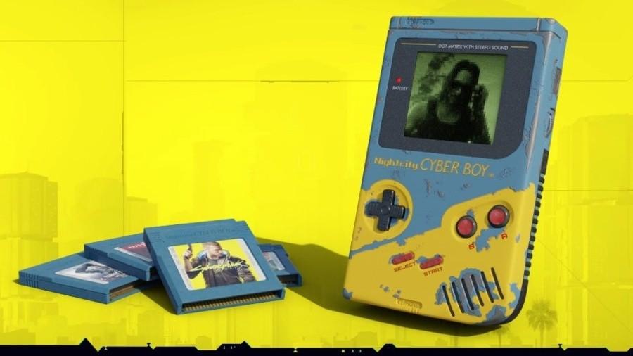 Cyberpunk 2077 Game Boy