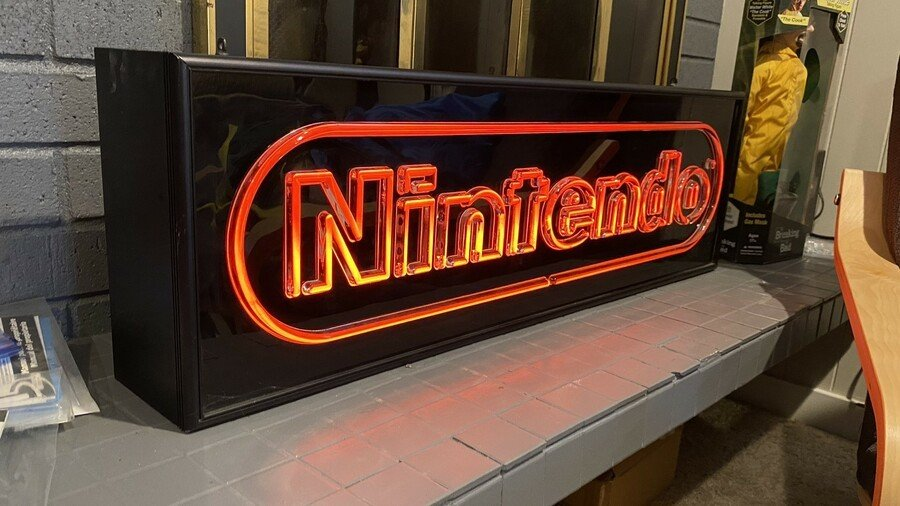 Superbrite Nintendo Sign