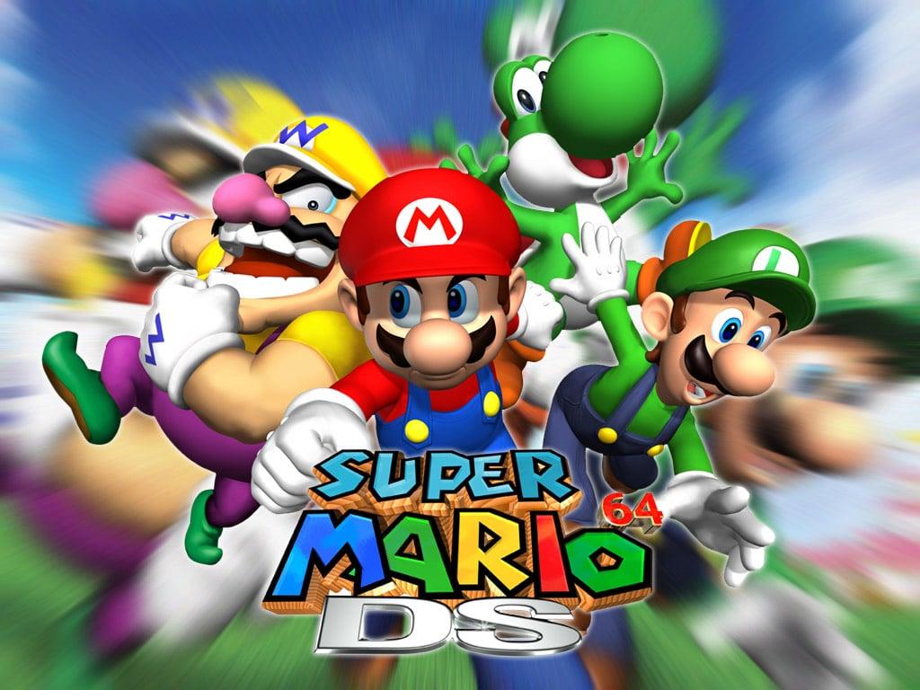 Mario History Super Mario 64 Ds 2004 Nintendo Life