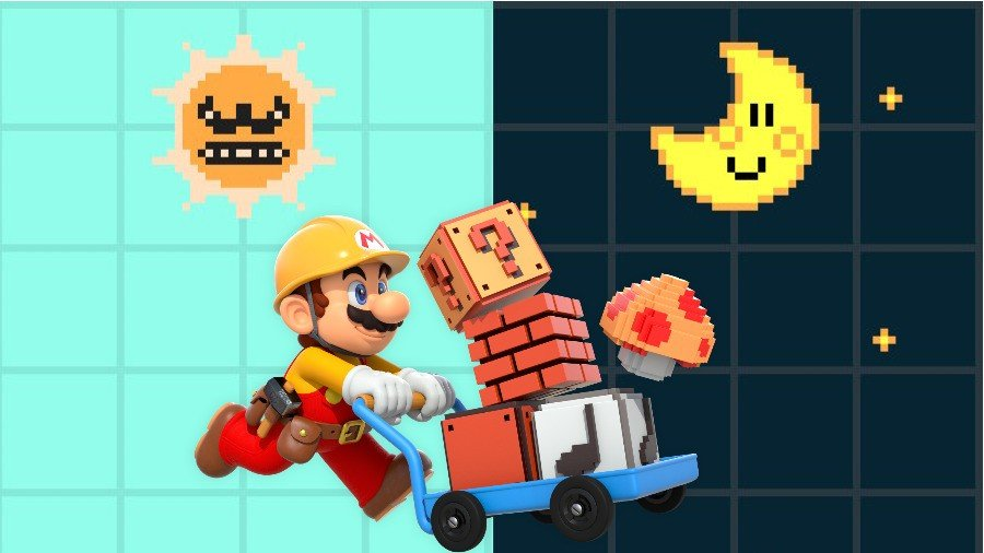 How To Change From Day To Night In Super Mario Maker 2