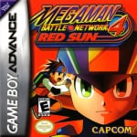 Mega Man Battle Network 4 Red Sun & Blue Moon (GBA)
