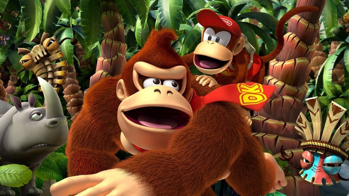 Random: Turns Out DK Gives Diddy Kong A Little Cuddle Every Time They Sit In A Barrel