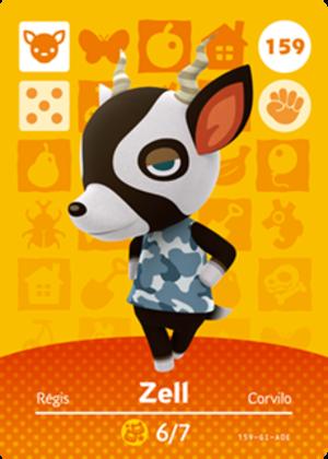 Zell amiibo card