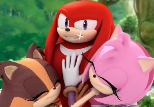 Knuckles Sonic Boom Glitch