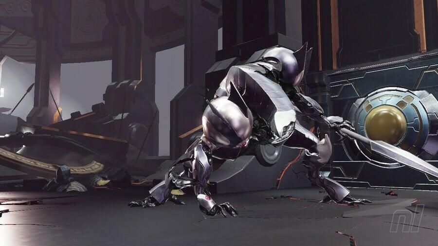Metroid Dread Chozo Soldier Boss Battle
