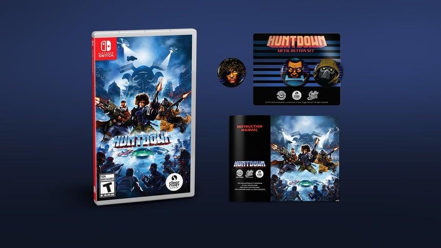 Huntdown Collectors Edition PS4 V2