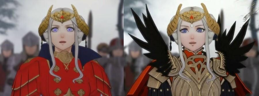 Fire Emblem: Three Houses comparison