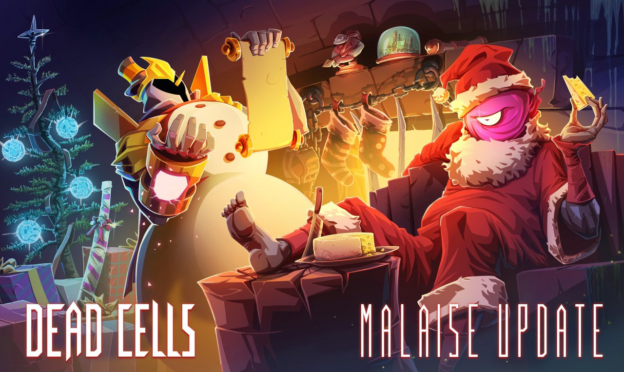 Dead Cells January Update Brings Festive Outfits, New Mutations And Cheese-Only Diet