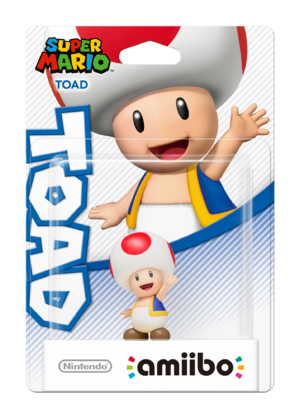Toad amiibo Pack