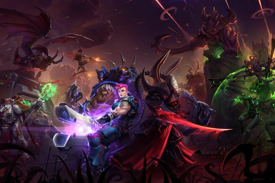 Heroes of the Storm is one Blizzard title that is struggling to make its mark