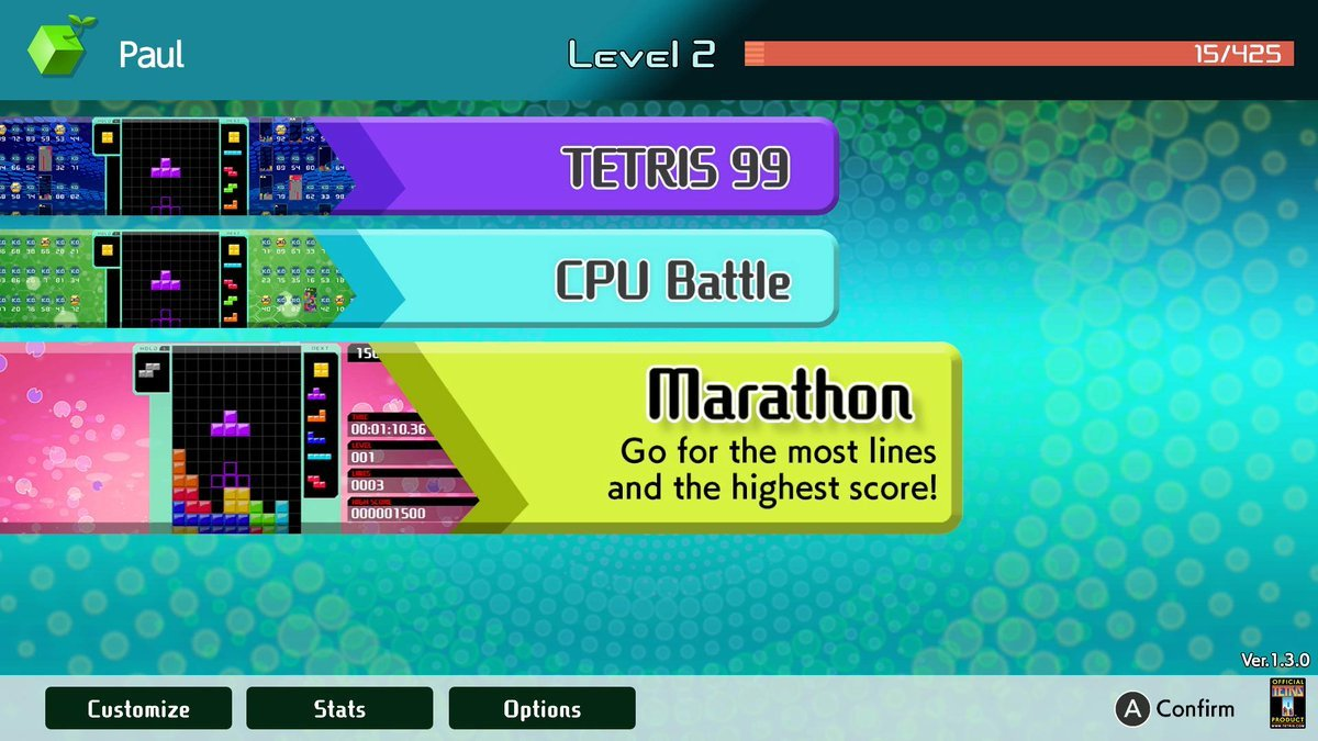 Reminder: You Can Unlock A Game Boy Theme In Tetris 99 Now