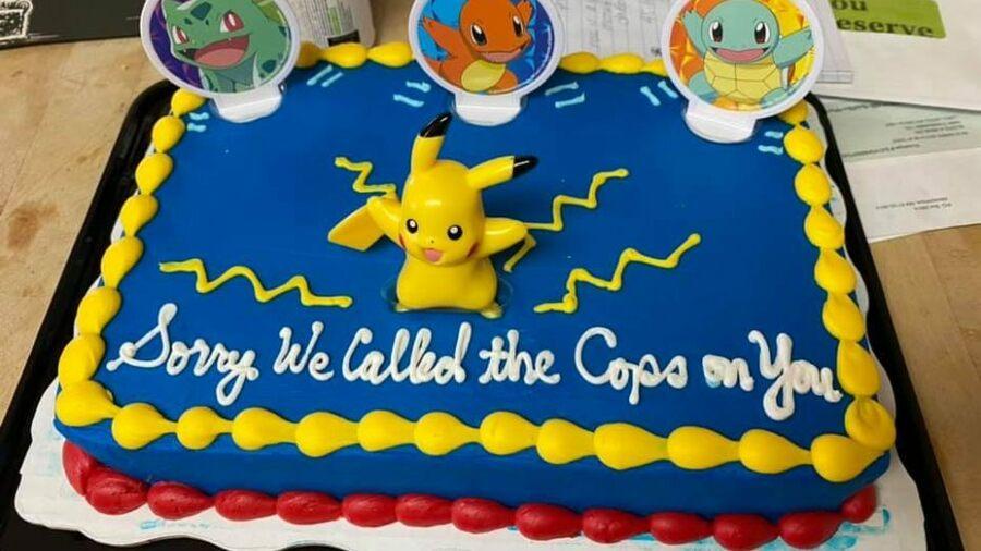 Pokemon Cake