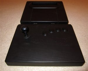 When was the last time you saw a console that was almost dwarfed by its controller?