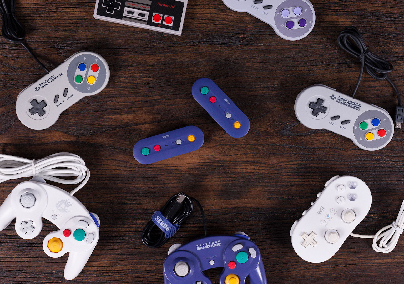 New 8Bitdo adapter makes wired GameCube controllers go wireless on Switch