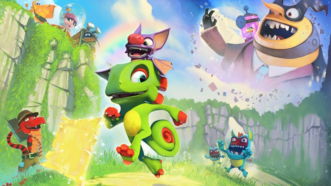 Feature: Ex-Rare Composers David Wise And Grant Kirkhope On Writing For Yooka-Laylee, Their Inspirations And Working From Home - Nintendo Life