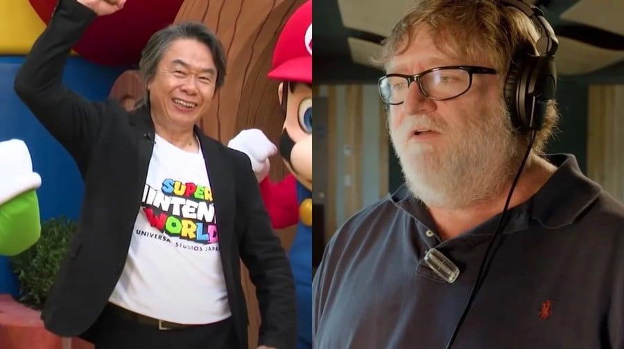 Shigeru Miyamoto Gabe Newell