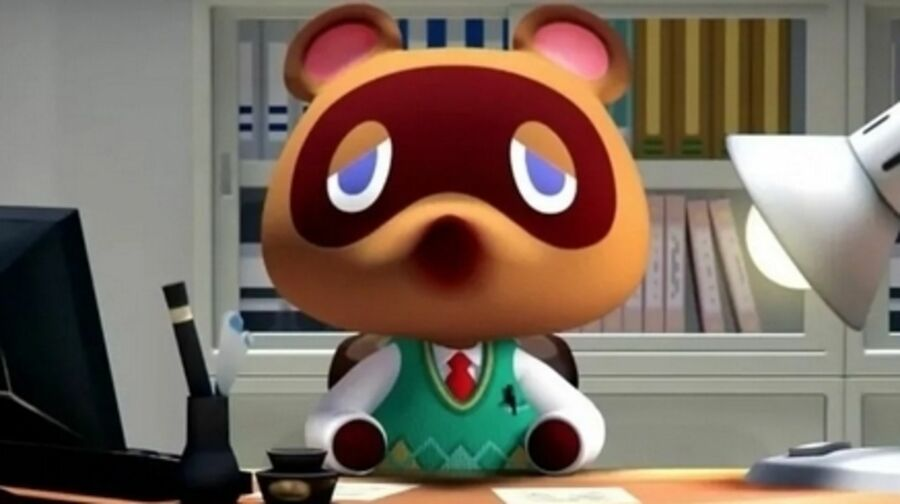 Tom Nook's face says what we're all thinking...