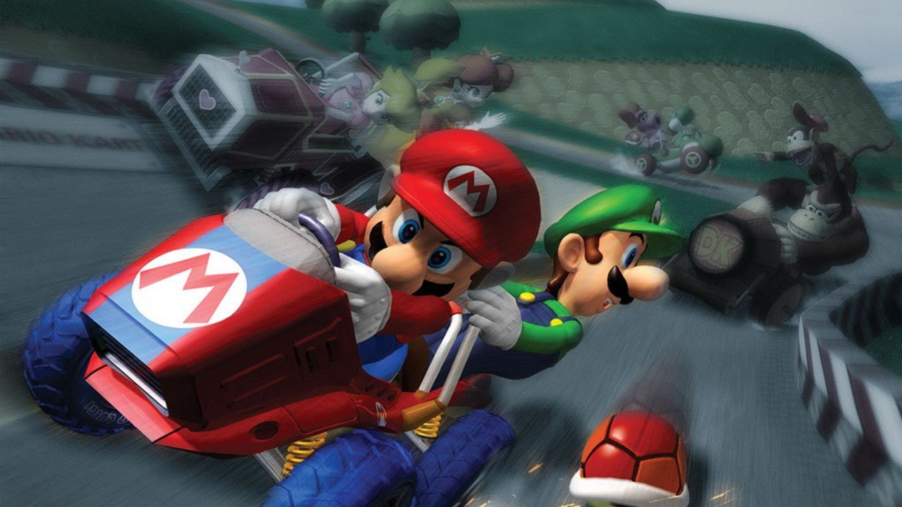 Mario History Mario Kart Double Dash 2003 Nintendo Life