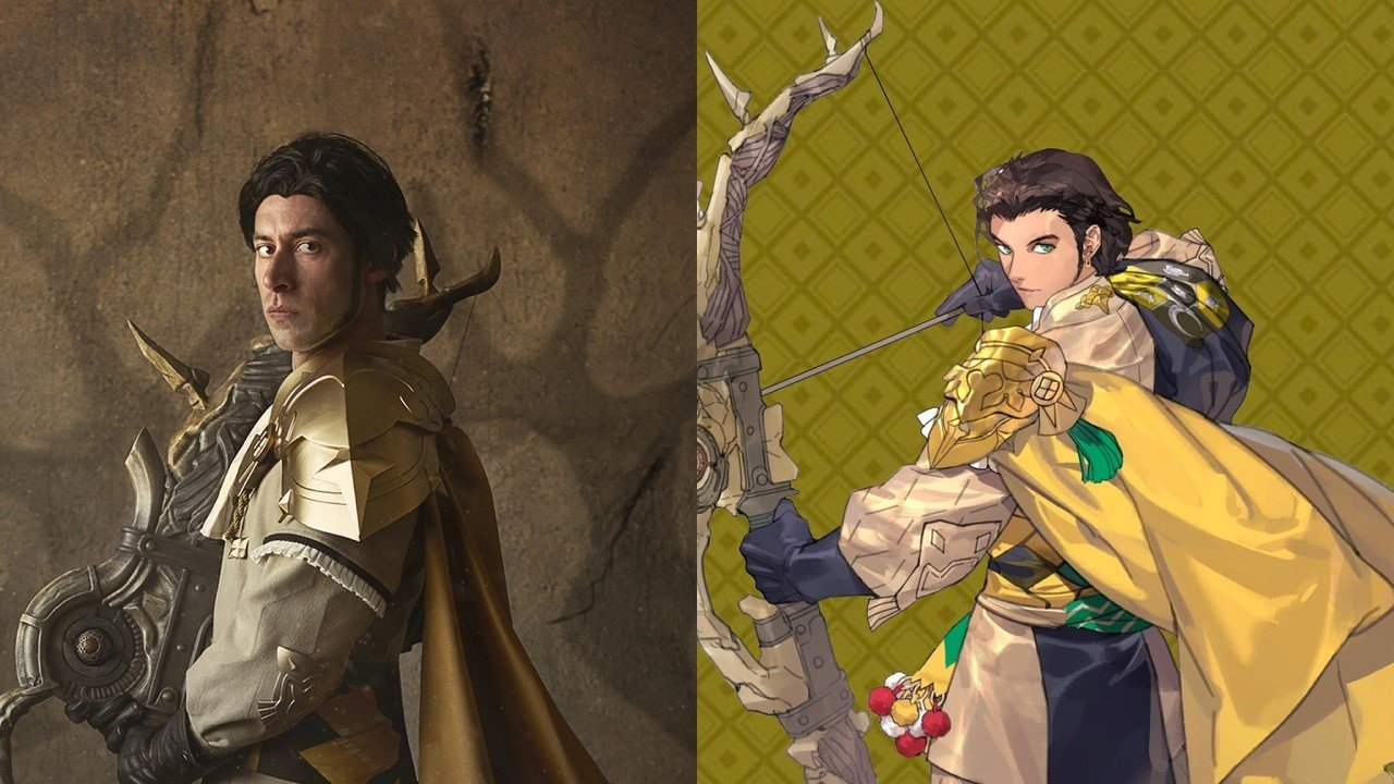 Claude From Fire Emblem Three Houses Cosplays As Claude