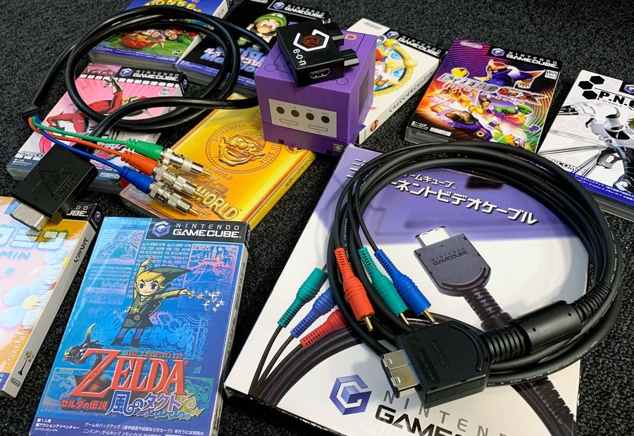 GameCube Component Cables and GC-HD HDMI