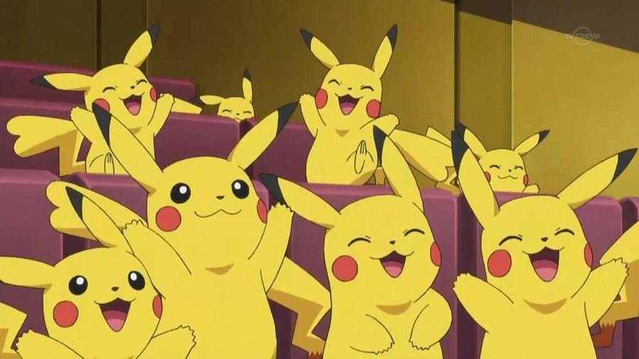 Happy Pikachus