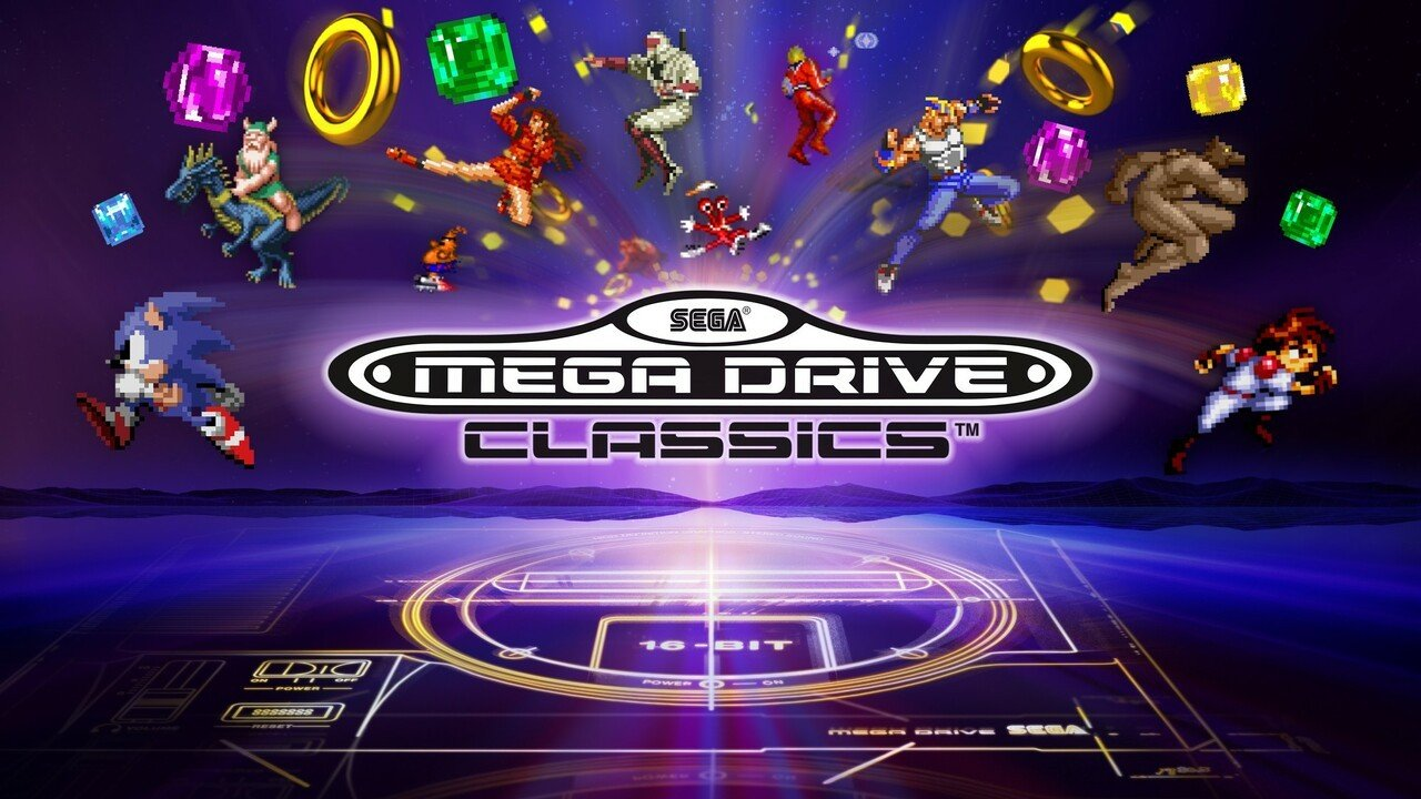 Sega Mega Drive Classics Is Coming To Switch This Winter