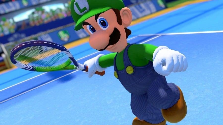 Luigi Mario Tennis Aces