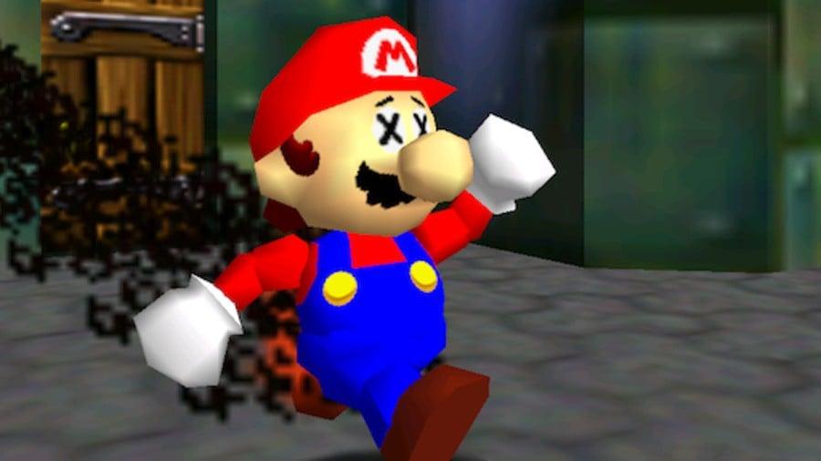What smoke looks like in Super Mario 64