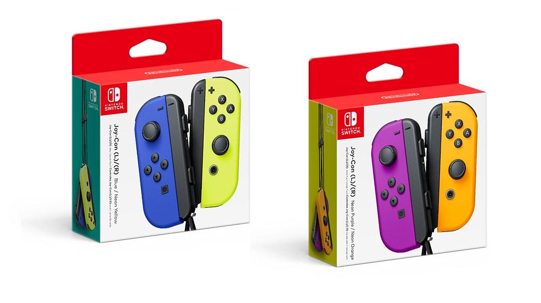 Nintendo Announces New Joy-Con Colours Coming In October
