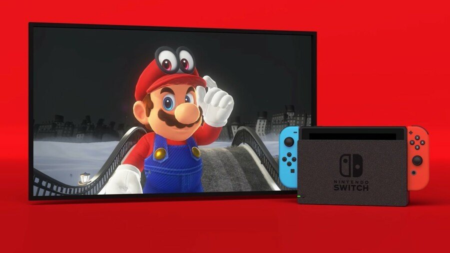 Super Mario Odyssey Woohoo