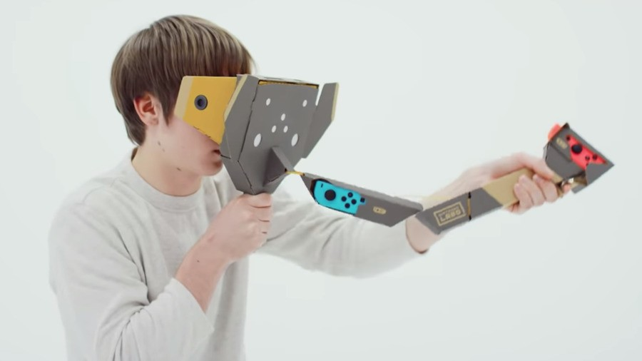 Nintendo's Toy-Con Elephant to be used with Nintendo Labo VR