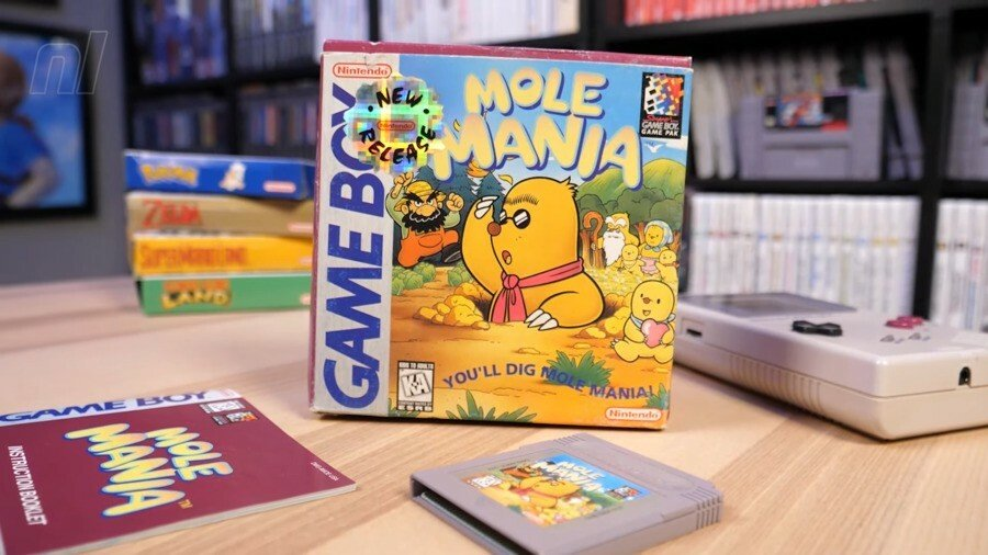 Mole Mania - Nintendo Life