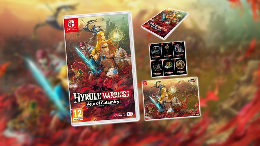 Hyrule Warriors Age Of Calamity Pre-Order