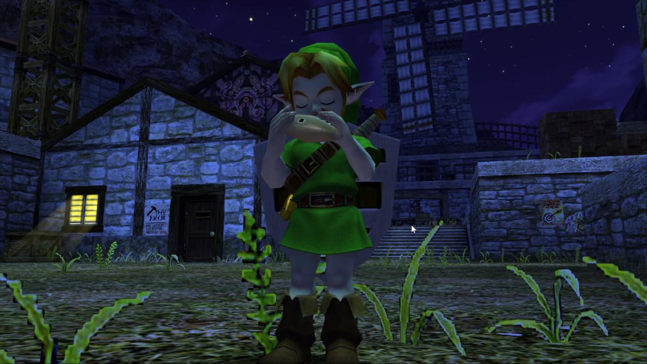 Video: Here's Zelda: Ocarina Of Time Looking Stunning In 4K, 60FPS