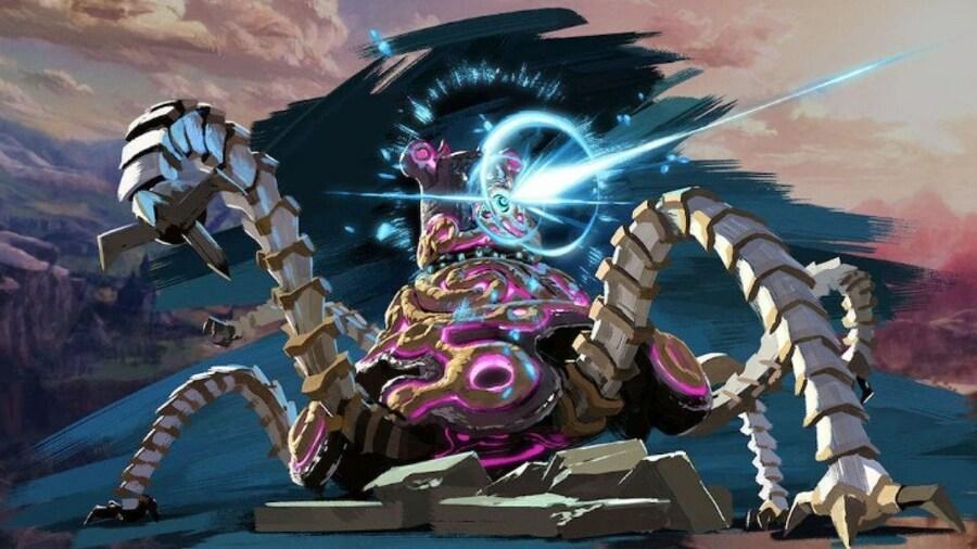 Guardian Zelda Breath of the Wild