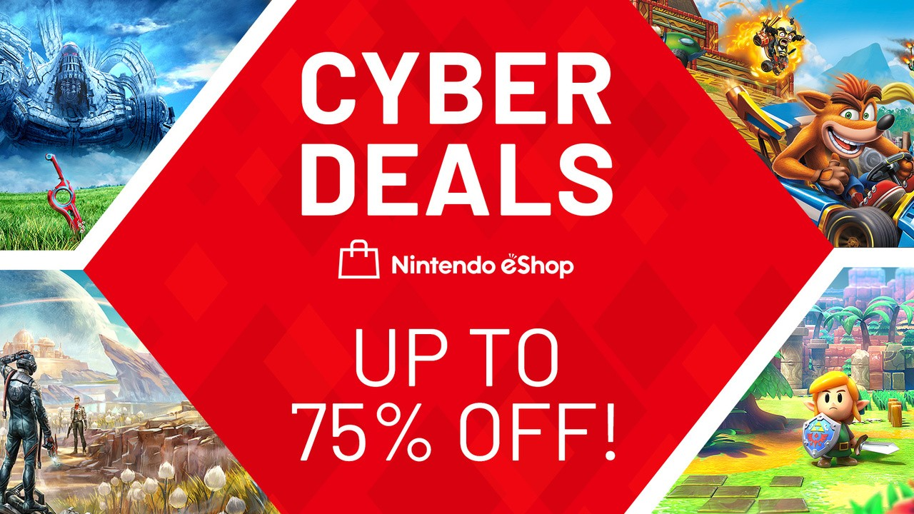 Nintendo's Huge Cyber Deals Sale Is Now Live, Up To 75% Off Top Games (Europe)