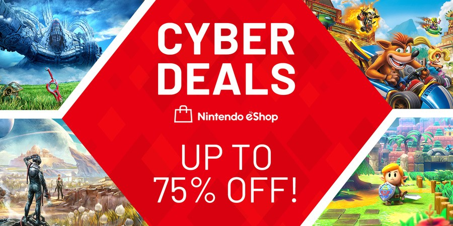 Nintendo Switch Cyber Deals Sale
