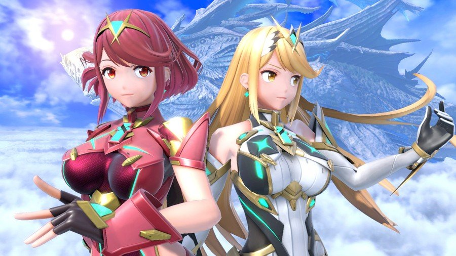 Pyra and Mythra
