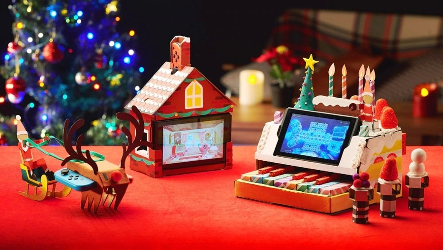 christmas labo.900x - Embrace The Festive Season With These Nintendo Labo Christmas Creations