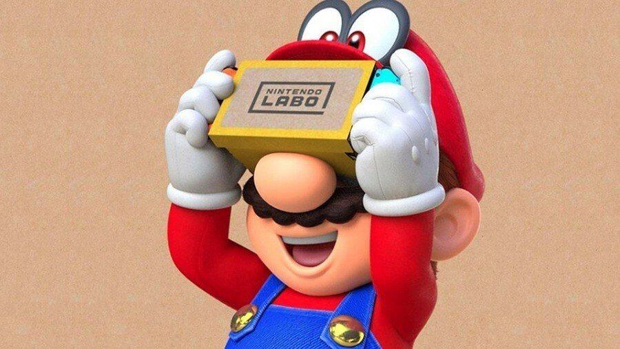 Reminder: The Labo VR Update For Super Mario Odyssey And