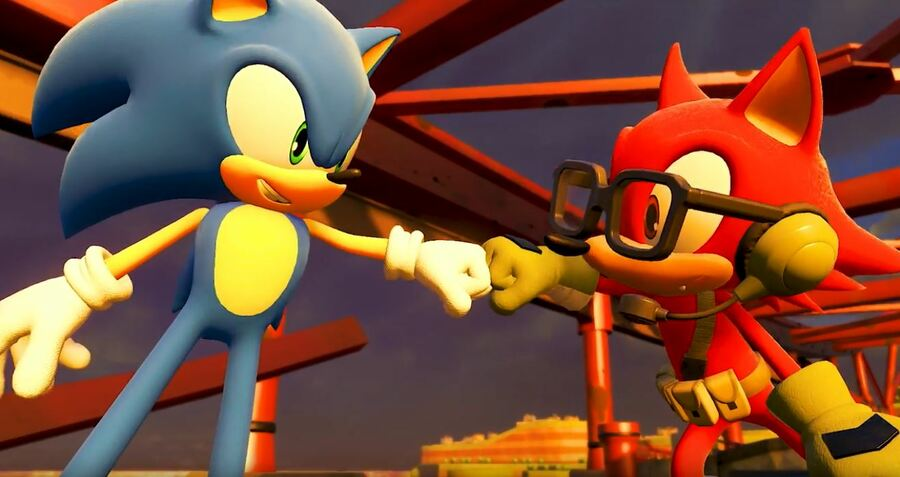 Sonic Forces fistbump.JPG