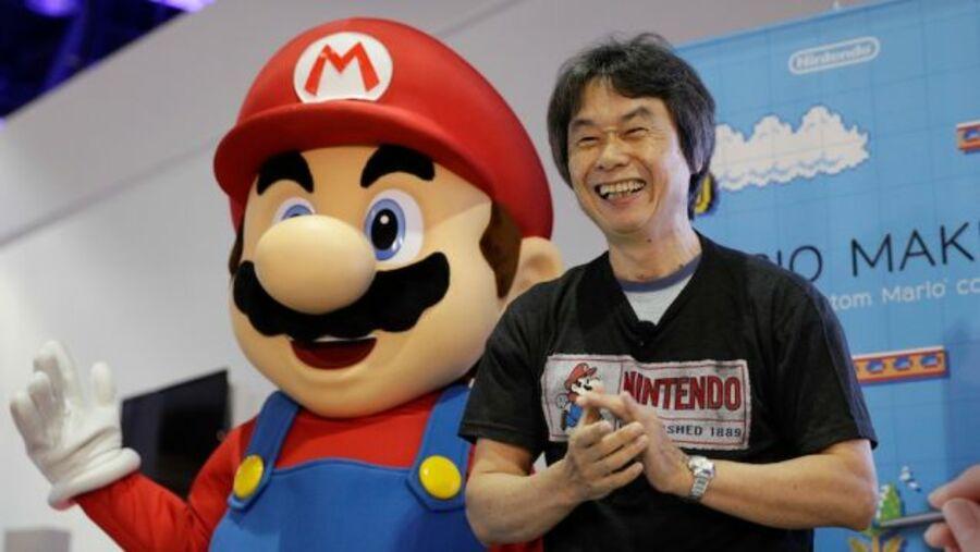 Miyamoto and Mario
