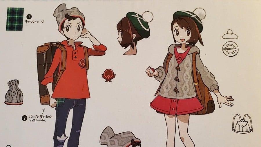 Concept art Pokemon Sword Shield