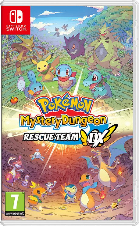 Here S The Colourful Box Art For Pokemon Mystery Dungeon