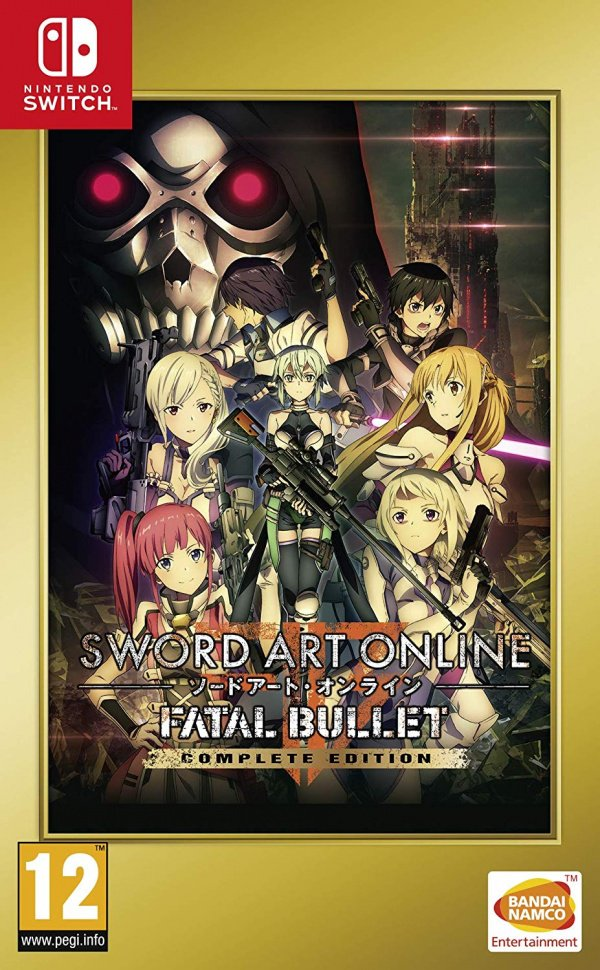 Sword Art Online Fatal Bullet Complete Edition Review Switch Nintendo Life