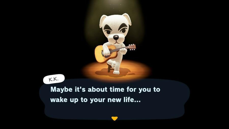 Animal Crossing New Horizons KK Nouvelle vie