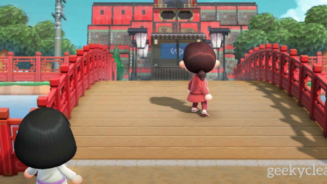 Random: This Animal Crossing Recreation Of Spirited Away Looks Just Like The Movie