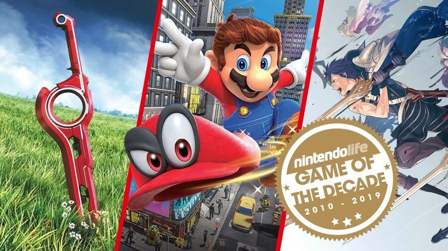 Nintendo Games Of The Decade Seal