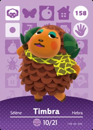 Timbra amiibo card